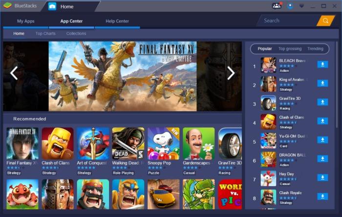 Juegos de tu móvil en el PC con BlueStacks
