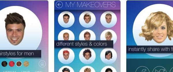 Apps para el cabello y peinados