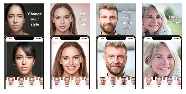 Apps envejecer y rejuvenecer