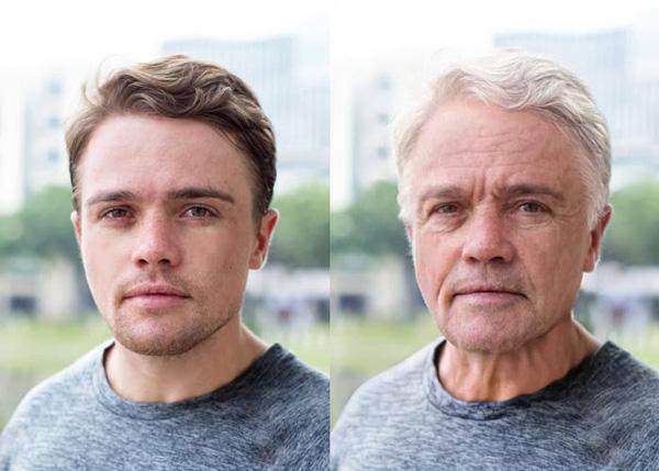aplicación envejecer y rejuvenecer