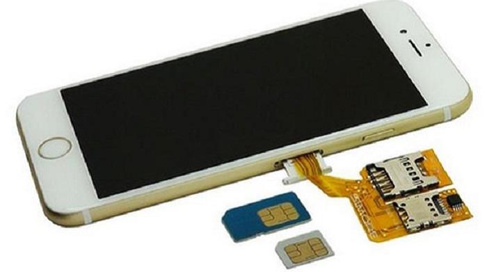 Como meter tarjeta SIM en Iphone