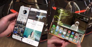 Doble pantalla iphone