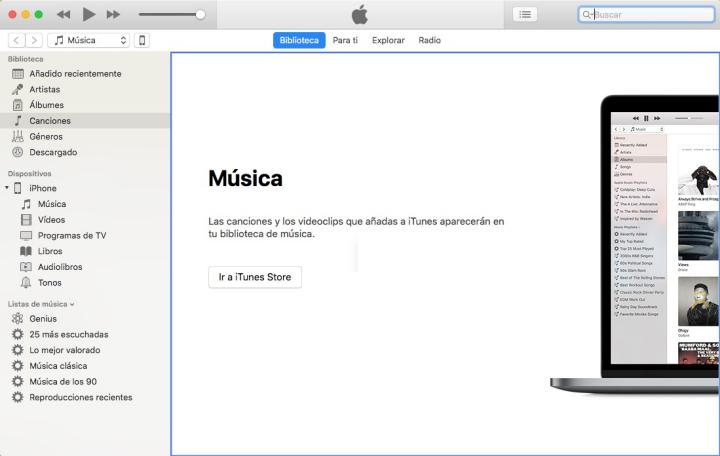 Pasar musica al Iphone